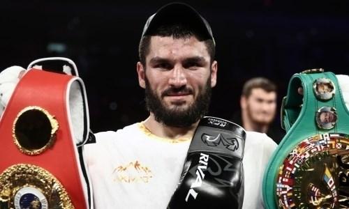 Бетербиев прокомментировал информацию оботказе боксировать вКитае из-за политики