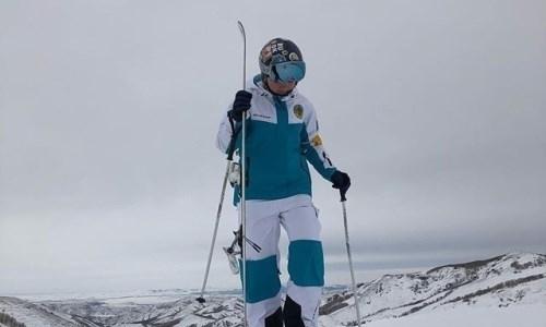 Казахстанка взяла четвертую медаль на Кубке Европы по фристайлу-могул