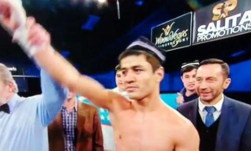 «Замена Головкина» из Узбекистана уничтожил соперника за 90 секунд. Видео
