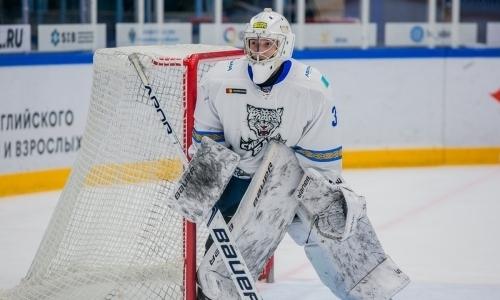 «Снежные Барсы» проиграли «Кузнецким Медведям» в матче МХЛ