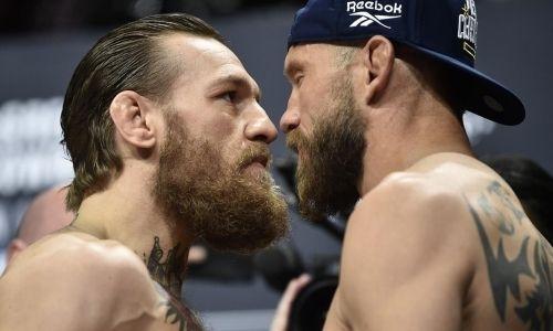 Конор Макгрегор — Дональд Серроне: прямая трансляция супербоя UFC