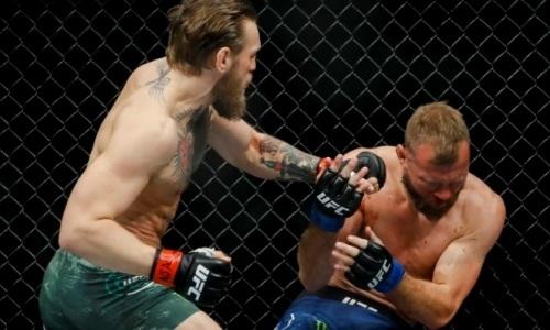 Конор Макгрегор — Дональд Серроне: видео полного боя с нокаутом за 40 секунд в UFC