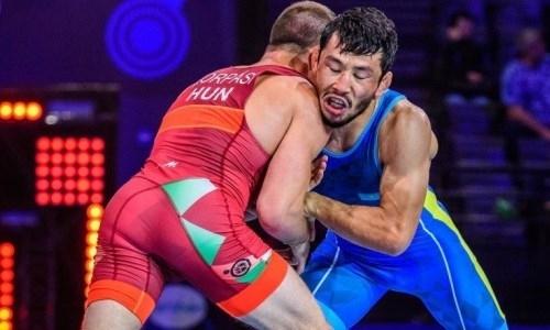 Гран-при по греко-римской борьбе: в активе Казахстана пять медалей