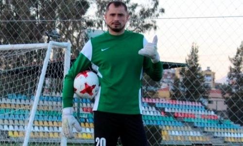 Экс-вратарь «Астаны» и сборной Казахстана будет играть в Первой лиге