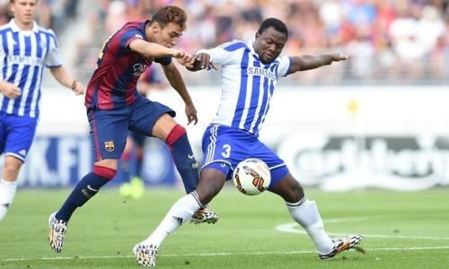 Не подошедший «Барселоне» футболист находится на просмотре в клубе КПЛ