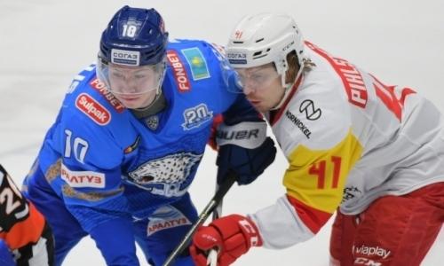 Прямая трансляция гостевого матча «Барыса» против «Йокерита» в КХЛ