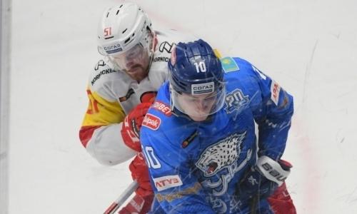«Йокерит» — лучший в КХЛ, «Барыс» — в числе худших. У финнов есть преимущество перед очным матчем КХЛ