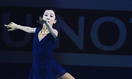 Элизабет Турсынбаева показала видео ссерией четверных прыжков натурнирах