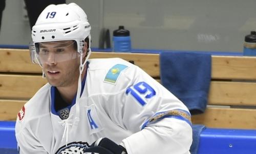«Барыс» назвал состав на гостевой матч КХЛ с «Йокеритом»