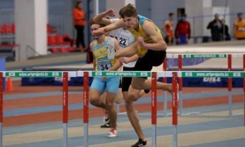 Установлен новый рекорд Казахстана в беге на 60 метров с барьерами