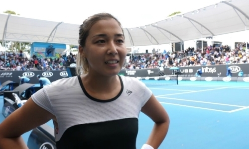 «Надеюсь оправдать ожидания». Дияс прокомментировала успешный старт на Australian Open
