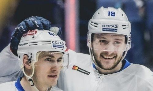 «Барыс» назвал состав на матч КХЛ против СКА