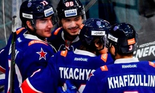 «Барыс» «помог» СКА стать вторым участником плей-офф КХЛ