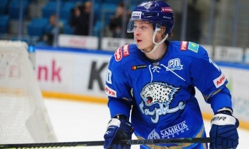 Казахстанский форвард «Барыса» совершал подвиги в матче против СКА и привел в восторг КХЛ