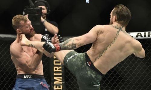 Челюсть падает на пол от восхищения. UFC выложил бой Макгрегор — Серроне в слоу-мо. Видео