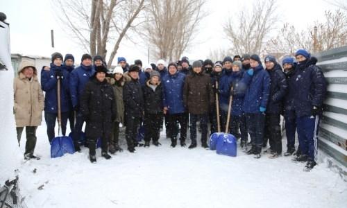 Футбольный клуб «Астана» поддержал челлендж «Бiз Бiргемiз»
