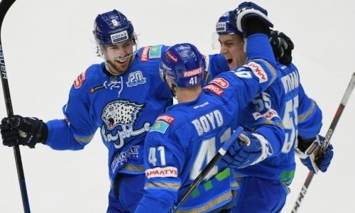 Букмекеры оценили шансы «Барыса» в третий раз за сезон победить «Салават Юлаев» в матче КХЛ