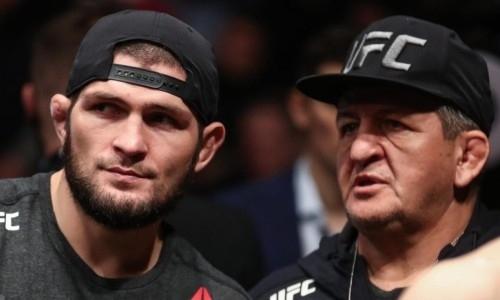 «Дело не в принципиальности». Отца Хабиба Нурмагомедова с флагом России не пустили на взвешивание UFC