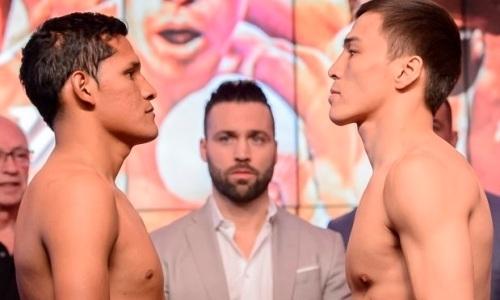 Прямая трансляция боя казахстанcкого нокаутера Батыра Джукембаева против мексиканца с 22 победами