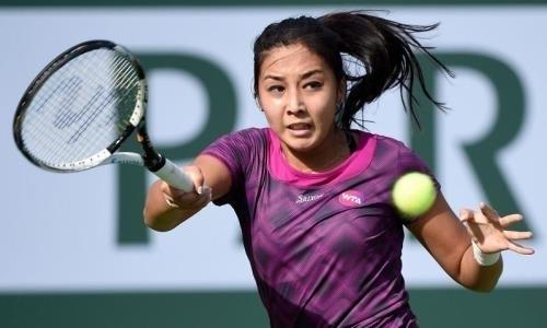 Зарина Дияс уступила десятой ракетке мира наAustralian Open