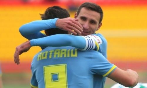 Шикарно. «Астана» в первом матче года разнесла претендента на выход в АПЛ