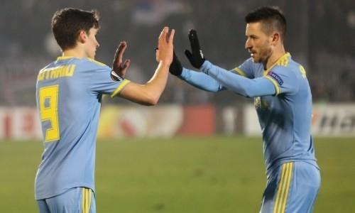 Красота! Видео голов товарищеского матча «Астана» — «Брентфорд»
