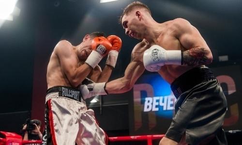 «Тщательно изучить соперника не удалось». Небитый казахстанский боксер об юбилейной победе в профи и титульных боях