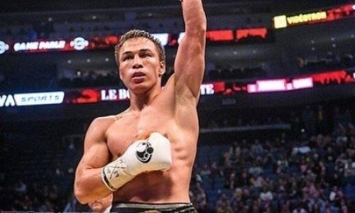 Казахстанец Батыр Джукембаев нокаутировал мексиканца с 22 победами в главном бою вечера в Канаде