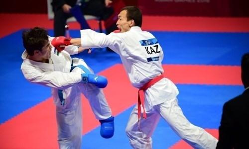 Казахстанец завоевал «серебро» Премьер-лиги Karate 1