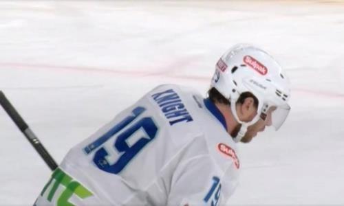 Видео шайб матча КХЛ «Автомобилист» — «Барыс» 2:4
