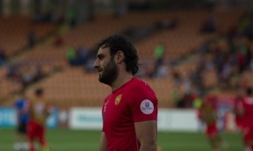Защитник сборной Армении подписал контракт с казахстанским клубом