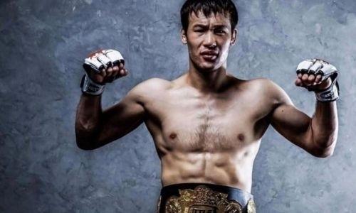 Официально анонсирован первый бой казахстанского файтера в UFC