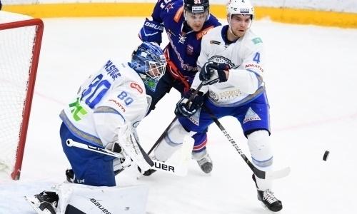 Голкипер «Барыса» входит втройку лучших вКХЛ посамому не вратарскому показателю