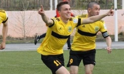 Казахстанский футболист проходит просмотр в российском клубе