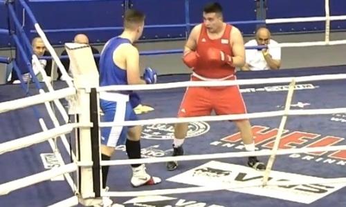 Казахстанский супертяж жестоко избил и нокаутировал своего первого соперника на турнире в Венгрии