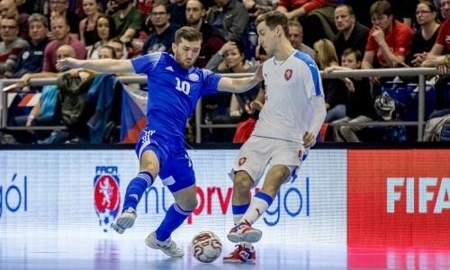 Видеообзор решающего матча за выход на ЧМ-2020 с семью голами и яркой победой сборной Казахстана над Чехией