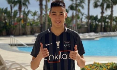 Европейский клуб объявил о трансфере казахстанского нападающего