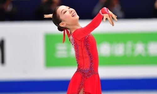 Названо место казахстанки Турсынбаевой в ТОП-10 лучших фигуристок мира