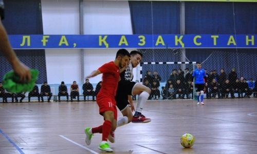 «Аят» забил одиннадцать мячей в ворота «Каспия» в матче чемпионата РК