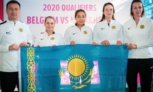 Определился соперник сборной Казахстана в плей-офф Кубка Федерации-2020