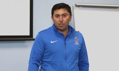 «Повела себя непрофессионально». Азербайджанский тренер раскритиковал сборную Казахстана