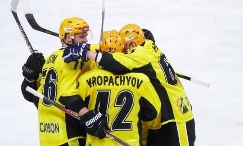 «Сарыарка» досрочно обеспечила себе участие вплей-офф ВХЛ