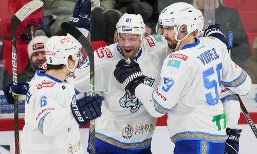 Кто тут лучший? «Барыс» на выезде победил ЦСКА и выиграл пятый матч подряд в КХЛ
