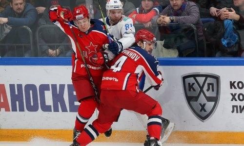 Хоккеист ЦСКА оценил уровень «Барыса» и раскрыл причину триумфа казахстанцев