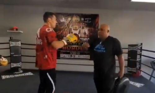 Жанибек Алимханулы поделился видео тренировки с известным наставником