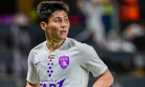 Прямая трансляция матча Бауыржана Исламхана за «Аль-Айн» против «Аль-Иттихад Калба» в чемпионате ОАЭ