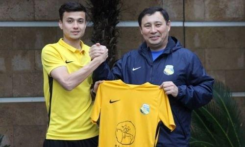 «Каспий» подписал бывшего защитника «Кайрата»