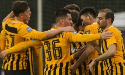 Зачетно. «Кайрат» забил три гола в первом тайме и уверенно победил восьмой клуб Украины