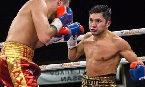 Он уже не смог встать. Видео нокаута непобежденным казахстанцем мексиканца с 20 победами у него на родине