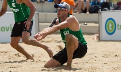 Казахстанцы заняли четвертое место на чемпионате Азии по пляжному волейболу